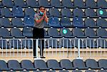 Fernando Vazquez head coach (RC Deportivo de la Coruna) reacts during La Liga Smartbank match round 39 between Malaga CF and RC Deportivo de la Coruna at La Rosaleda Stadium in Malaga, Spain, as the season resumed following a three-month absence due to the novel coronavirus COVID-19 pandemic. Jul 03, 2020. (ALTERPHOTOS/Manu R.B.)