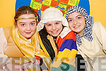 "STAGE STARS: Stars of the Kilmoyley National School production of  ""Joseph and his Amazing Technicolor Dreamcoat"" which was staged in Ballyheigue Community Centre on Thursday night..L/r. Shannon Lowe, Laurna Sheehan and Tara Lowe."