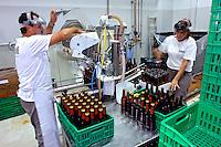 Producao de cerveja em micro cervejaria Eisenbahn. Blumenau. Santa Catarina. 2006. Foto de Caio Vilela.