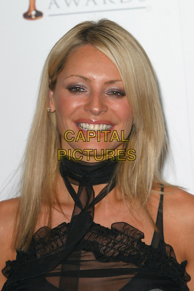 TESS DALY.Pantene Pro-V Awards, Royal Albert Hall.22nd October2003 .headshot, portrait.www.capitalpictures.com.sales@capitalpictures.com.Supplied By Capital PIctures