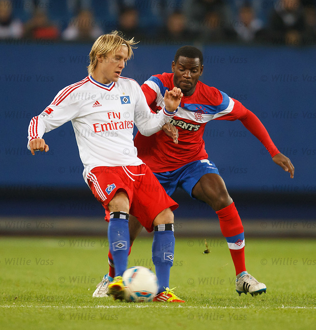 Maurice Edu and Per Skjelbred