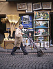 A man walks through the old Kucuk Pazar section of Istanbul, Turkey. © Kevin J. Miyazaki/Redux