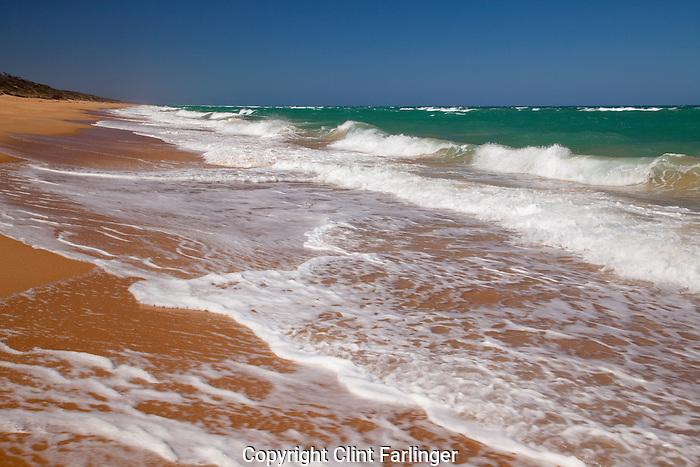 The Ninety Mile Beach, Gippsland Lakes Coastal Park, Victoria, Australia (Bass Strait)