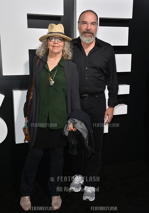 "LOS ANGELES, CA. September 13, 2018: Mandy Patinkin & Kathryn Grody at the premiere for ""Life Itself"" at the Cinerama Dome.<br /> Picture: Paul Smith/Featureflash"