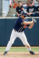 Jake Vasquez of the Cal State Fullerton Titans during a game against the Arizona Wildcats at Goodwin Field on February 18, 2007 in Fullerton, California. (Larry Goren/Four Seam Images)