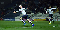 Preston North End's Alan Browne celebrates scoring the opening goal<br /> <br /> Photographer Stephen White/CameraSport<br /> <br /> The EFL Sky Bet Championship - Preston North End v Middlesbrough - Tuesday 27th November 2018 - Deepdale Stadium - Preston<br /> <br /> World Copyright © 2018 CameraSport. All rights reserved. 43 Linden Ave. Countesthorpe. Leicester. England. LE8 5PG - Tel: +44 (0) 116 277 4147 - admin@camerasport.com - www.camerasport.com