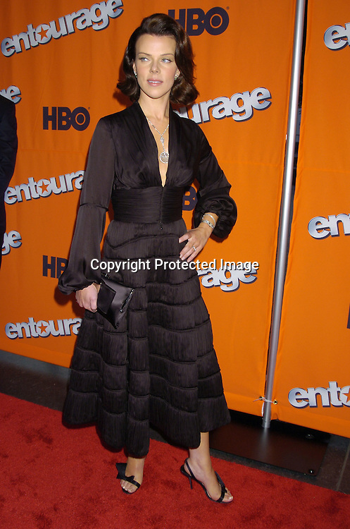 "Debi Mazar ..at The New York Season 2 Premier of HBO Television show ""Entourage"" on June 2, 2005  at Lincoln Center. ..Photo by Robin Platzer, Twin Images"