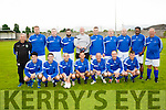 University Hospital Kerry team who played a charity match at Tralee Dynamos , Mounthawk, Tralee last Friday evening against The Bon Secure hospital in aid of their colleague the Late Tommy Naughton.