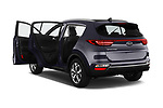 Car images close up view of a 2019 KIA Sportage More 5 Door SUV doors