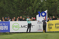 Haydn Porteous (RSA) on the 10th tee during Round 4 of the D+D Real Czech Masters at the Albatross Golf Resort, Prague, Czech Rep. 03/09/2017<br /> Picture: Golffile   Thos Caffrey<br /> <br /> <br /> All photo usage must carry mandatory copyright credit     (&copy; Golffile   Thos Caffrey)