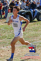 Jacob Meadors, a Notre Dame senior, placed 31st in the Class 3 race in 17:19.