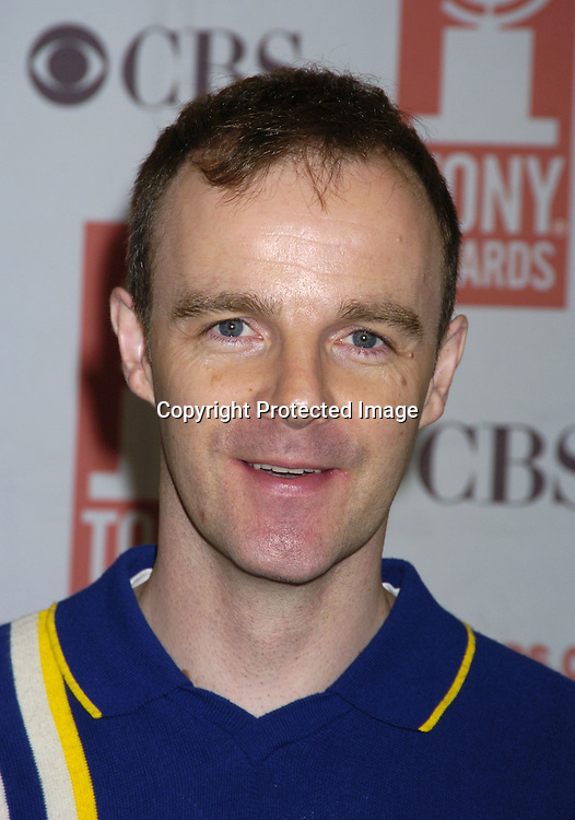 Brian F O'Byrne ..at The 2005 Tony Awards Nominees Meet the Press Reception on May 11, 2005 at The Marriott Marquis Hotel. ..Photo by Robin Platzer, Twin Images