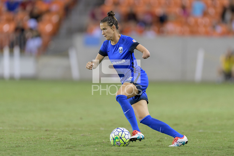 Houston, TX - Sunday Sept. 25, 2016: Carson Pickett during a regular season National Women's Soccer League (NWSL) match between the Houston Dash and the Seattle Reign FC at BBVA Compass Stadium.