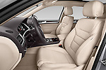Front seat view of a 2014 Volkswagen Touareg Hybrid 5 Door SUV 2WD Front Seat car photos
