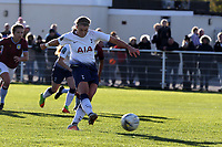 Rianna Dean of Tottenham Ladies scores the second goal from the penalty spot during Tottenham Hotspur Ladies vs Aston Villa Ladies, FA Women's Championship Football at Theobalds Lane on 28th October 2018