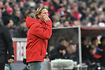 30.11.2019, Rheinenergiestadion, Köln, GER, DFL, 1. BL, 1. FC Koeln vs FC Augsburg, DFL regulations prohibit any use of photographs as image sequences and/or quasi-video<br /> <br /> im Bild Markus Gisdol (1.FC Köln / Koeln) unzufrieden / enttaeuscht / niedergeschlagen / frustriert, <br /> <br /> Foto © nordphoto/Mauelshagen