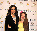 """CNN's Soledad O'Brien (co-mistress of ceremonies) poses with her daughter Sofia Raymond at Hearts of Gold's 16th Annual Fall Fundraising Gala & Fashion Show """"Come to the Cabaret"""", a benefit gala for Hearts of Gold on November 16, 2012 at the Metropolitan Pavilion, New York City, New York.   (Photo by Sue Coflin/Max Photos)"""