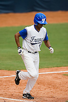 19 August 2007: Designated Hitter #26 Jamel Boutagra walks to first base on balls during the Japan 4-3 victory over France in the Good Luck Beijing International baseball tournament (olympic test event) at the Wukesong Baseball Field in Beijing, China.