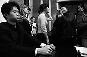Warszawa 23 september - 24 october 2005 Poland<br /> The Fryderyk Chopin International Contest taking place every five years in Warsaw is the most prestigious musical event in the world. This year a record high number of contestants has applied - 257 musicians from 35 countries. <br /> ( &copy; Filip Cwik / Napo Images for Newsweek Polska )<br /> <br /> Warszawa 23 wrzesien -24 pazdziernik 2005 Polska<br /> 15 Miedzynarodowy Konkurs Pianistyczny im. Fryderyka Chopina. Konkurs odbywa sie co piec lat i jest to najbardziej prestizowa impreza pianistyczna na swiecie. Nalezy do swiatowej elity wydarzen muzycznych. W tym roku na Konkurs zglosila sie rekordowa liczba uczestnikow - 257 muzykow z 35 krajow. <br /> ( &copy; Filip Cwik / Napo Images dla Newsweek Polska )