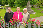 CLEANING UP: Members of Kenmare Tidy towns committee in the park in Kenmare from l-r: John Finnegan, Eleanor Connor-Scarteen and Steve Rowe.