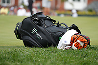 The bag of Tiger Woods (USA) rests on the 5th hole during the final round of the 100th PGA Championship at Bellerive Country Club, St. Louis, Missouri, USA. 8/12/2018.<br /> Picture: Golffile.ie | Brian Spurlock<br /> <br /> All photo usage must carry mandatory copyright credit (&copy; Golffile | Brian Spurlock)