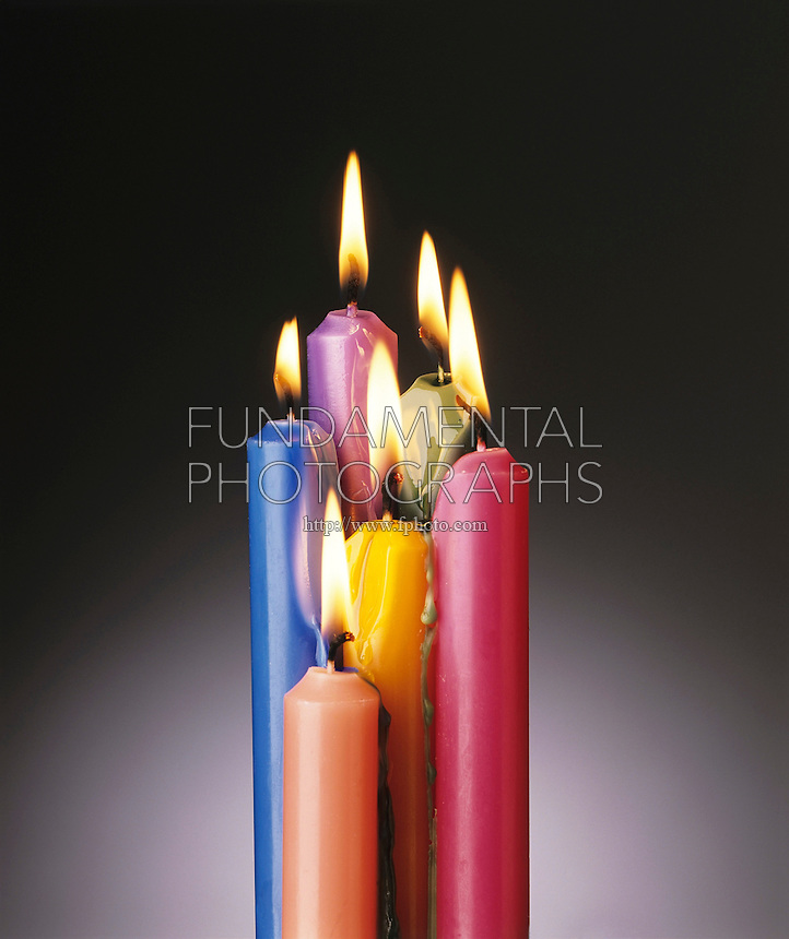 BURNING CANDLES: PHYSICAL &amp; CHEMICAL CHANGE<br /> Wax melting is a physical change. When wax burns in oxygen the change is chemical producing carbon dioxide &amp; water vapor.