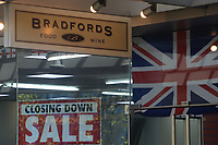 Shops in rich area of London closing down due to lack of customers during coronavirus covid-19 pandemic.<br /> London, England on July 21, 2020.<br /> CAP/IH<br /> ©Ivan Harris/Capital Pictures