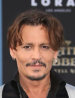 "HOLLYWOOD, CA - May 18: Johnny Depp, At Premiere Of Disney's ""Pirates Of The Caribbean: Dead Men Tell No Tales"" At Dolby Theatre In California on May 18, 2017. Credit: FS/MediaPunch"
