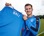 Dominic Ball at Rangers after training today