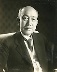Undated - Magoichi Tawara (1869-1944) was a chief secretary of the Rikken Minseito(Constitutional Democratic Party). (Photo by Kingendai Photo Library/AFLO)