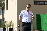 28th November 2019; Yas Marina Circuit, Abu Dhabi, United Arab Emirates; Formula 1 Abu Dhabi Grand Prix, arrivals day; Andreas Seidl, Team Principle at McLaren - Editorial Use