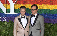 NEW YORK, NEW YORK - JUNE 09: Jim Parsons, Todd Spiewak attend the 73rd Annual Tony Awards at Radio City Music Hall on June 09, 2019 in New York City. <br /> CAP/MPI/IS/JS<br /> ©JSIS/MPI/Capital Pictures