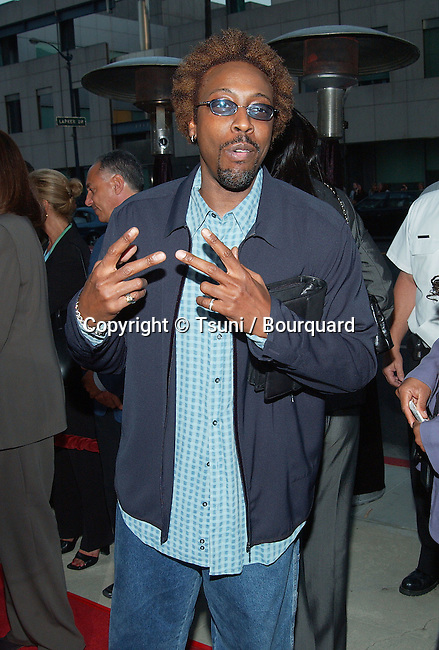 "Arsenio Hall arriving at the premiere of "" Serving Sara "" at the Samuel Goldwyn Theatre at The Academy of Motion Picture Arts and Science in Los Angeles. August 20, 2002.           -            HallArsenio22.jpg"