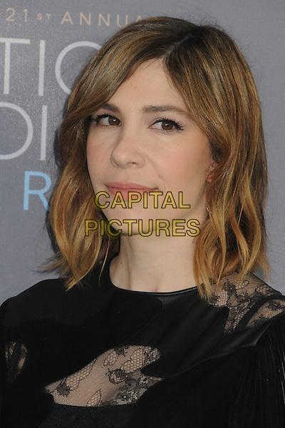 17 January 2016 - Santa Monica, California - Carrie Brownstein. 21st Annual Critics' Choice Awards - Arrivals held at Barker Hangar. <br /> CAP/ADM/BP<br /> &copy;BP/ADM/Capital Pictures