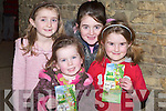 AUDIENCE: Young children who enjoyed the Musical Jack and the Beanstalk by Oliver Hurley Production at Siamsa Tire, Tralee were: Ciara Rath (Tralee), Rachel, Kate and Nell O'Connor (Annascaul).   Copyright Kerry's Eye 2008