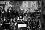 Rahm Emanuel Mayoral Election Victory B+W (USA)