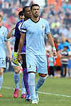 02 April 2016: Minnesota's Tiago Calvano (BRA). The Carolina RailHawks hosted Minnesota United FC at WakeMed Stadium in Cary, North Carolina in a 2016 North American Soccer League Spring Season game. Carolina won the game 2-1.