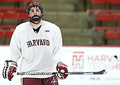 Alexander Kerfoot (Harvard - 14) - The Harvard University Crimson practiced on Friday, October 22, 2013, at Bright-Landry Hockey Center in Cambridge, Massachusetts.
