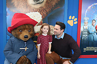 """LOS ANGELES - JAN 6:  Brett Dalton, Daughter at the """"Paddington 2"""" US Premiere at Village Theater on January 6, 2018 in Westwood, CA"""