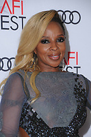 09 November  2017 - Hollywood, California - Mary J. Blige. AFI FEST 2017 Presented By Audi - Opening Night Gala - Screening Of Netflix's &quot;Mudbound&quot; held at TCL Chinese Theatre in Hollywood.  <br /> CAP/ADM/BT<br /> &copy;BT/ADM/Capital Pictures