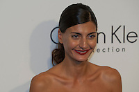 Giovanna Battaglia Attend the Calvin Klein Collection post show event at Spring Studios on September 12, 2013 New York by VIEWpress