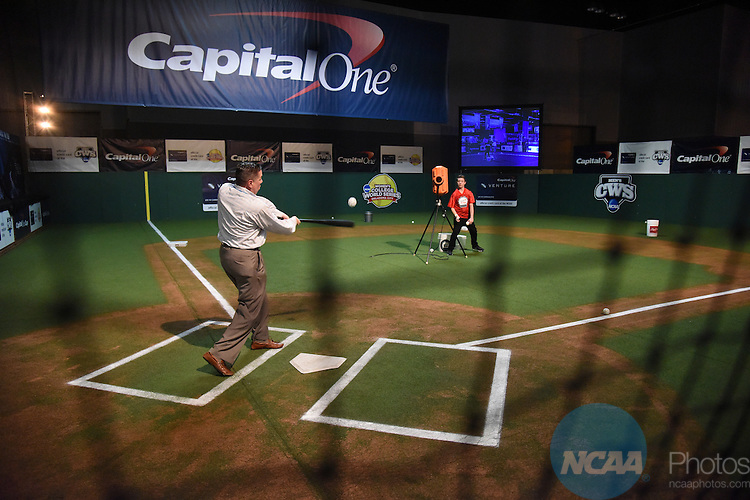 02 APR 2015:  The Media Welcome Party takes place at Fan Fest as part of the festivities surrounding the 2015 NCAA Men's DI Basketball Final Four Tournament held at Lucas Oil Stadium in Indianapolis, IN.  Derek Johnson/NCAA Photos