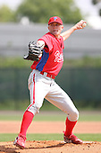 March 18th 2008:  Jacob Diekman of the Philadelphia Phillies minor league system during Spring Training at the Carpenter Complex in Clearwater, FL.  Photo by:  Mike Janes/Four Seam Images