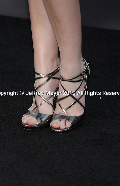 """LOS ANGELES, CA. - June 24: Anna Kendrick arrives to the premiere of """"The Twilight Saga: Eclipse"""" during the 2010 Los Angeles Film Festival at Nokia Theatre L.A. Live on June 24, 2010 in Los Angeles, California."""