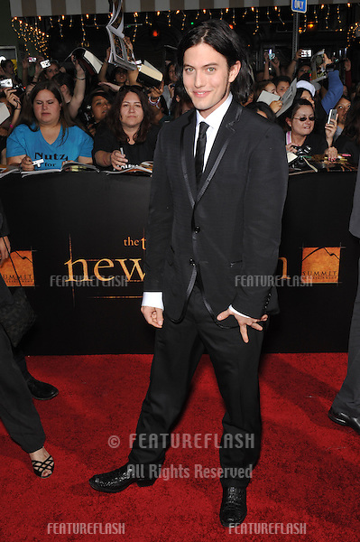 """Jackson Rathbone at the world premiere of his new movie """"The Twilight Saga: New Moon"""" at Mann Village & Bruin Theatres, Westwood..November 16, 2009  Los Angeles, CA.Picture: Paul Smith / Featureflash"""