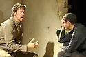 Paul,a new playu by Howard Brenton. With  Lloyd Owen as Peter,Adam Godley as Paul. Opens at the Cottesloe Theatre on 9/11/05. CREDIT Geraint Lewis