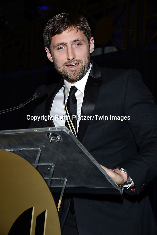 winner for Fiction Phil Klay at the 65th Annual National Book Awards on November 19, 2014 at Cipriani Wall Street in New York City. <br /> <br /> photo by Robin Platzer/Twin Images<br />  <br /> phone number 212-935-0770