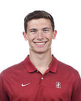 Stanford, CA - September 20, 2019: James Wright, Athlete and Staff Headshots