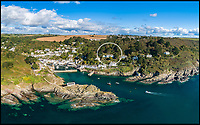 "BNPS.co.uk (01202 558833)<br /> Pic: LillicrapChilcott/BNPS<br /> <br /> Rooms with a view...Spectacular seaside home with breathtaking sea vistas.<br /> <br /> A spectacular Cornish coastal house with breathtaking panoramic views out to sea is on the market for £1.75m.<br /> <br /> Seaways is positioned on the hill overlooking the quaint fishing village of Polperro, where the owners can watch the boats come in and catch the sun all day.<br /> <br /> It was once the home of Doctor Zhivago actress Rita Tushingham, but has beeen completely renovated and updated by the current owners, who have added a swimming pool and hot tub.<br /> <br /> Estate agents Lillicrap Chilcott say no expense has been spared on the refurbishment and Seaways is the""best house in Polperro""."