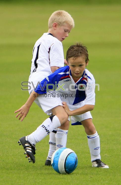 Pix: Chris Mangnall/SWpix.com, Football  17/08/08 U9 Festival @ Liverpool FC Academy....picture copyright>>Simon Wilkinson>>07811267 706>>....Bolton Wanderers F.C. U9's v Blackburn Rovers F.C. U9's